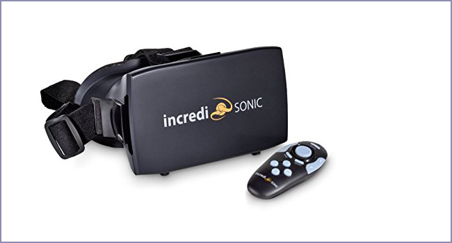IncrediSonic VR Headset with Remote Control