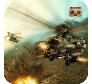 battle helicopters VR game