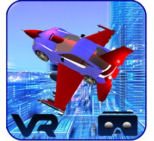 VR Flying Car Flight Simulator