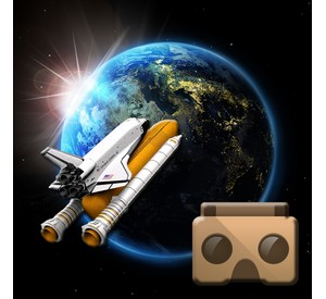 Space mission VR game