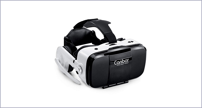best Canbor virtual reality headset for movies