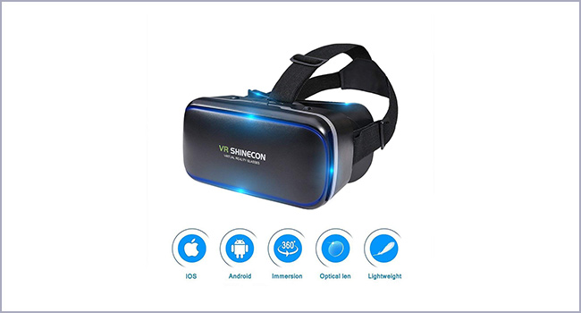 best ekir 3D virtual reality headset for movies
