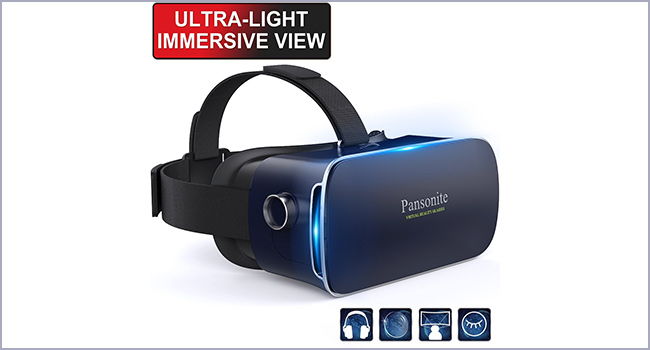 best pansonite 3d virtual reality headset for movies