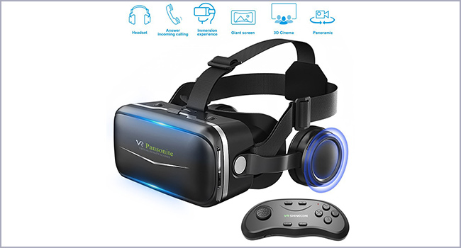 best Pansonite vr headset for iphone 6