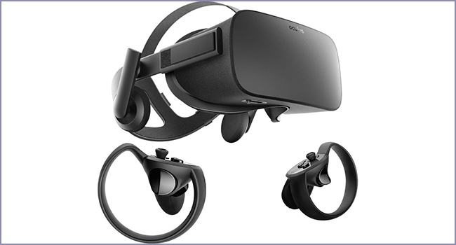 oculus rift touch virtual reality system